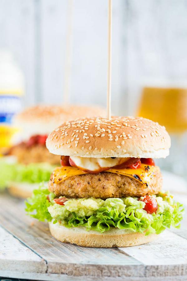 Chipotle Chickeburger
