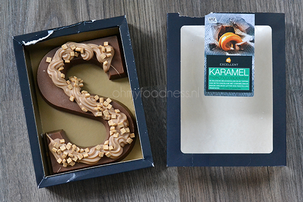 Chocoladeletter AH Excellent