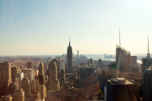 Top of the Rock vs Empire State Building