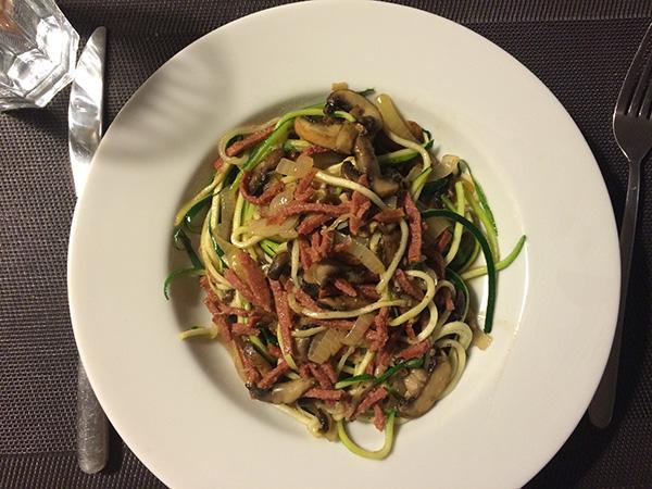 courghetti