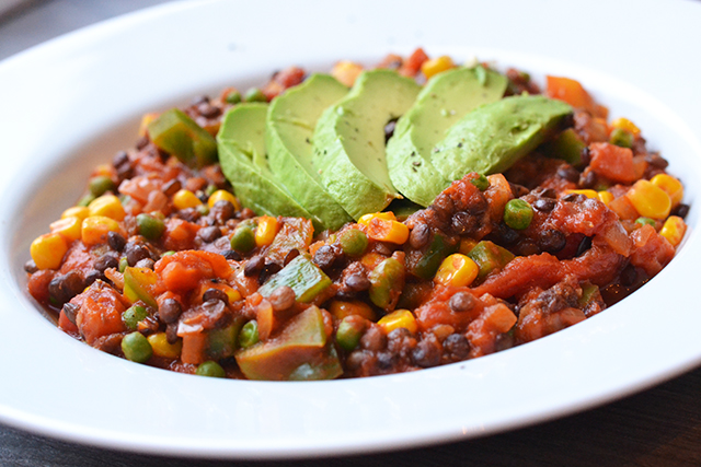 Vegetarische Linzenchili