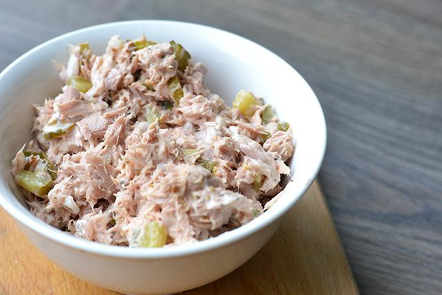 Tonijnsalade voor op brood