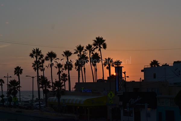 Zonsondergang Los Angeles