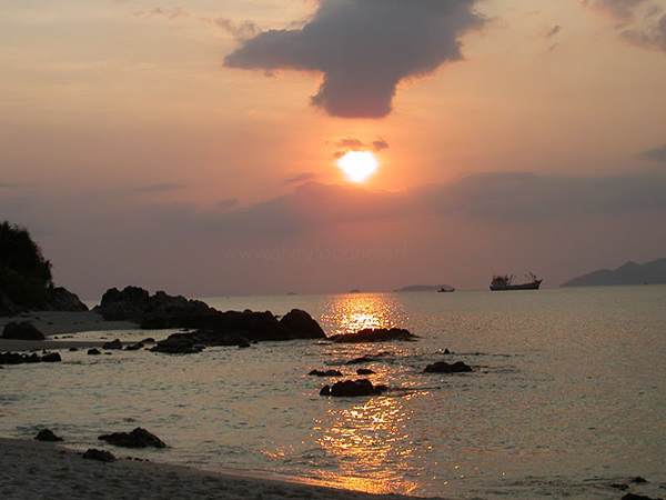 Zonsondergang Thailand