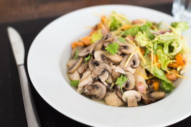 Kip met champignons uit de slowcooker