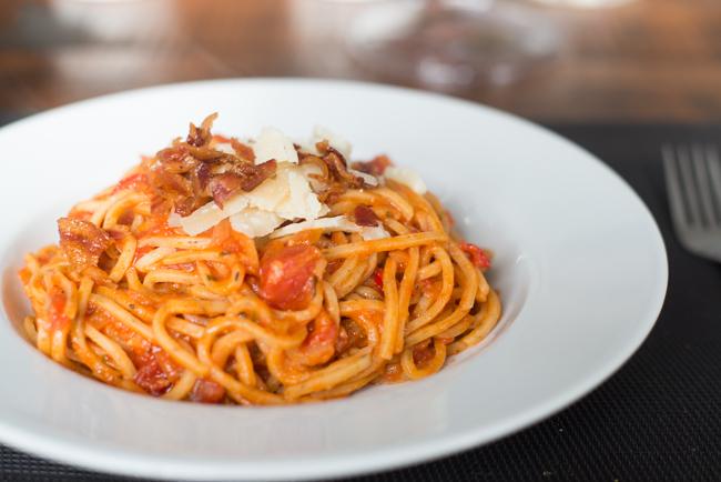 Spaghetti a L'Arrabiata