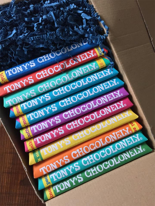 Winactie Tony's Chocolonely