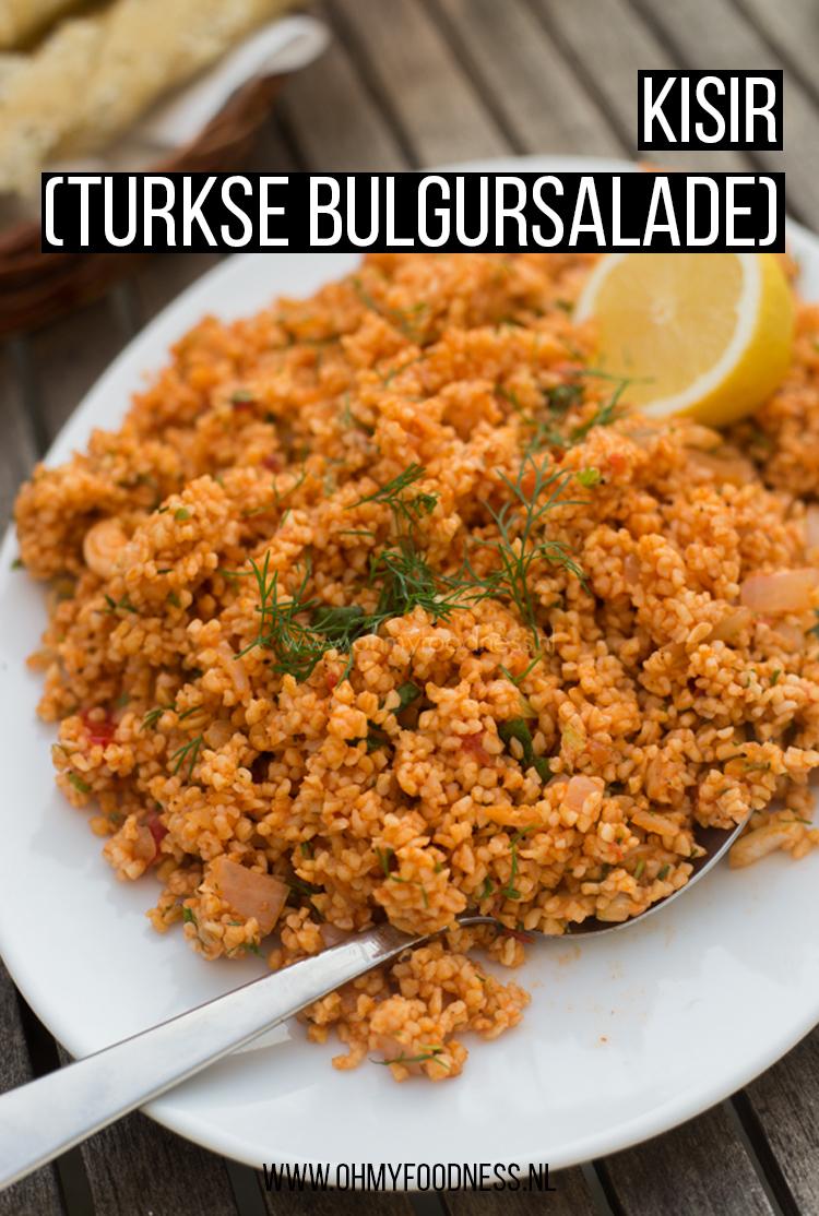 Kisir (Turkse Bulgursalade)