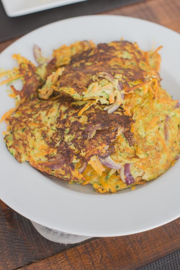 Zoete Aardappel-Courgette koekjes