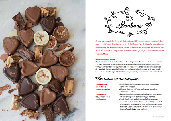 Sneak Peek Guilty Pleasures Kookboek