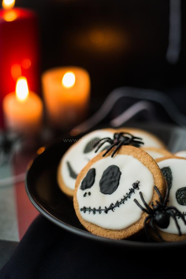 Halloween Sandwichkoekjes