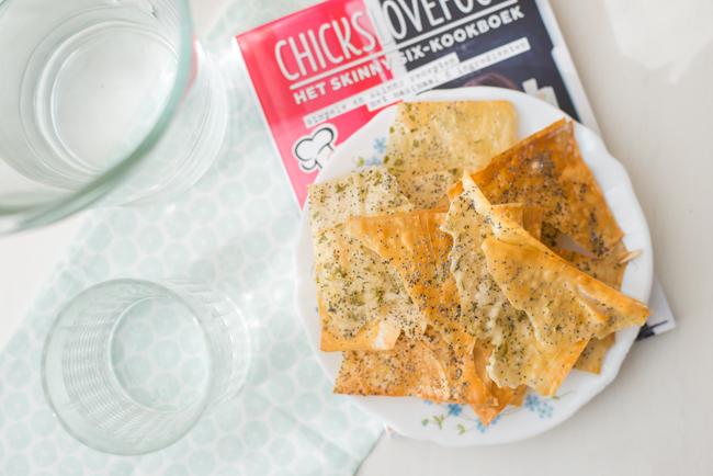 Italiaanse Filodeegcrackers van Chickslovefood