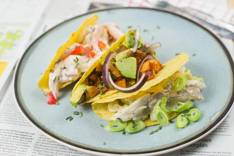 3x Vullingen voor Taco's