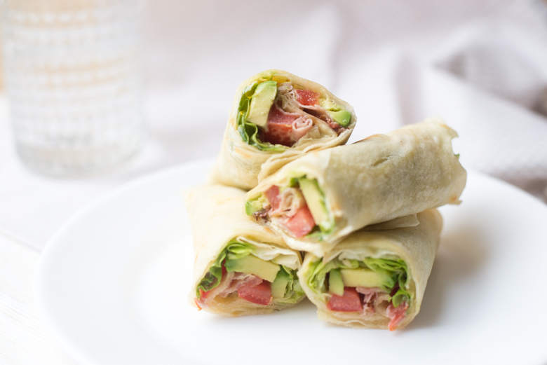 BLT wraps met avocado