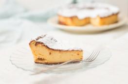 Witte chocolade cheesecake met 3 ingredienten