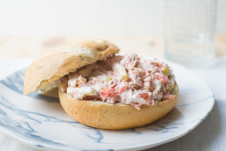 Broodje tonijnsalade van La Place