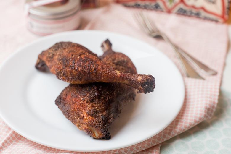 Geroosterde paprikakip uit de oven