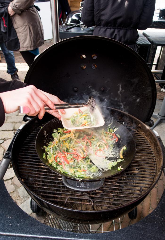 Experimenteren met barbecuen