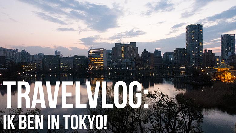 Japan vlog: Ik ben in Tokyo!