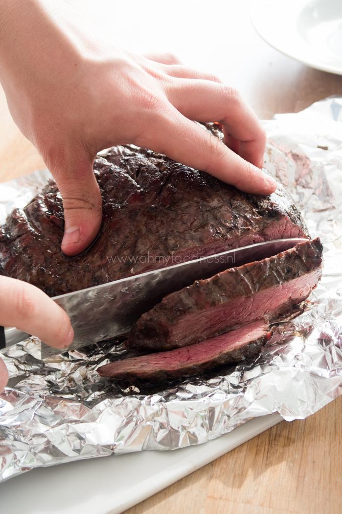 Picanha van de BBQ