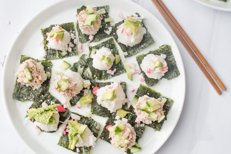 Sushi snacks