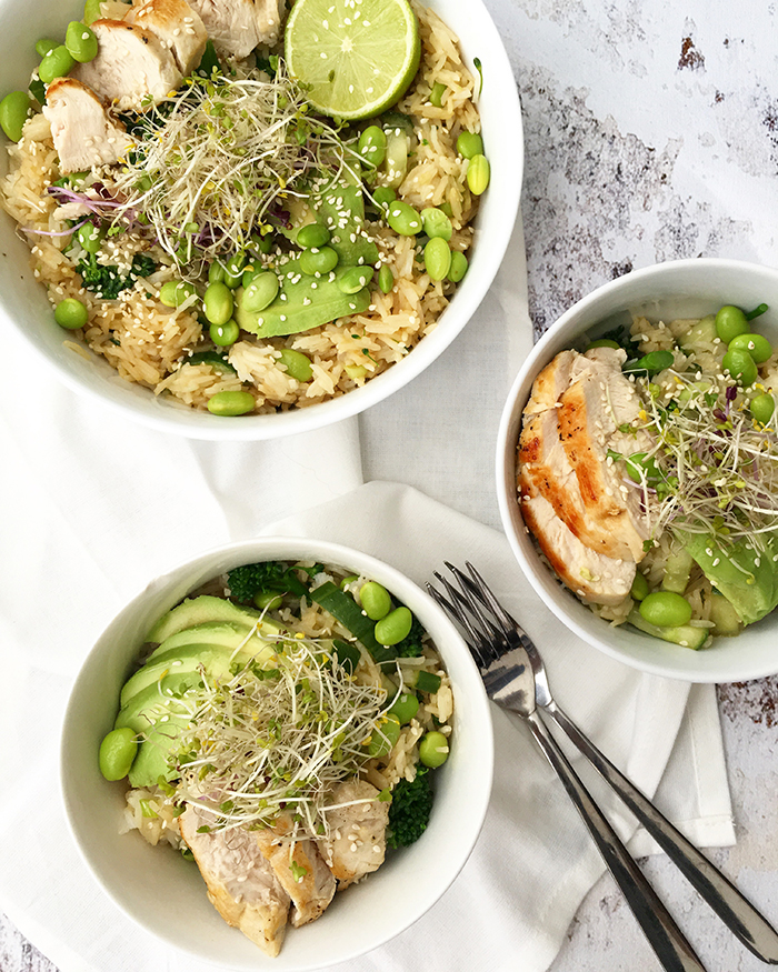wasabi-rijstsalade