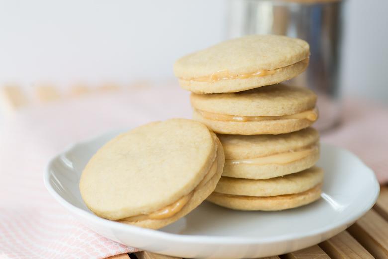Dulce de Leche sandwichcookies