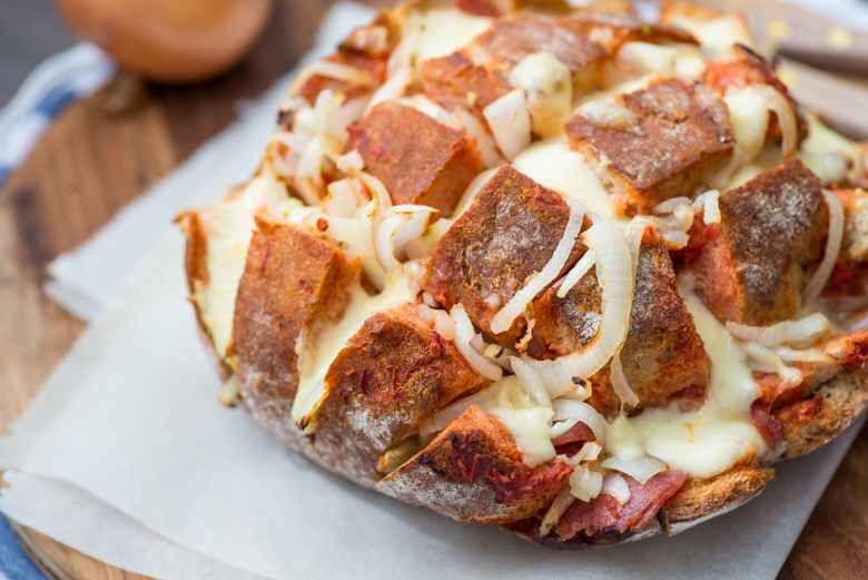 Pizza Borrelbrood