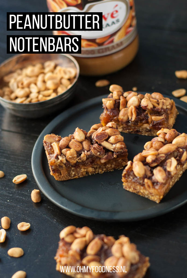 Peanutbutter notenbars