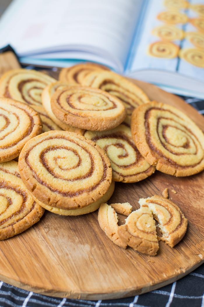 Cinnamonswirl cookies