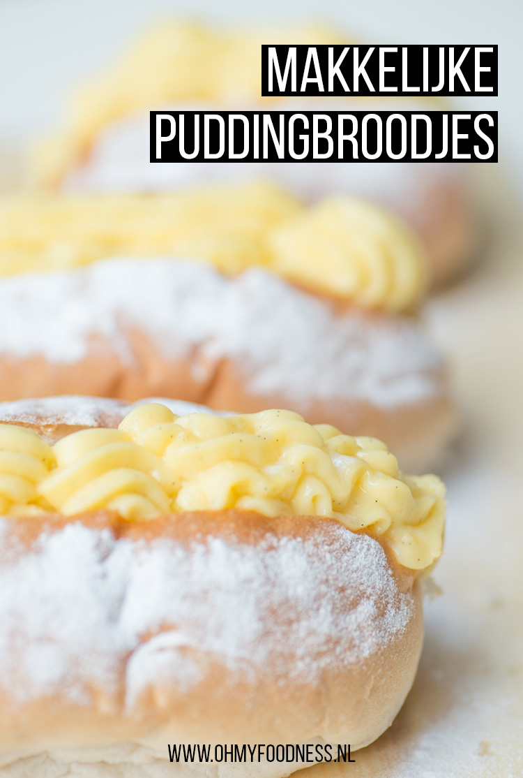 Makkelijke puddingbroodjes