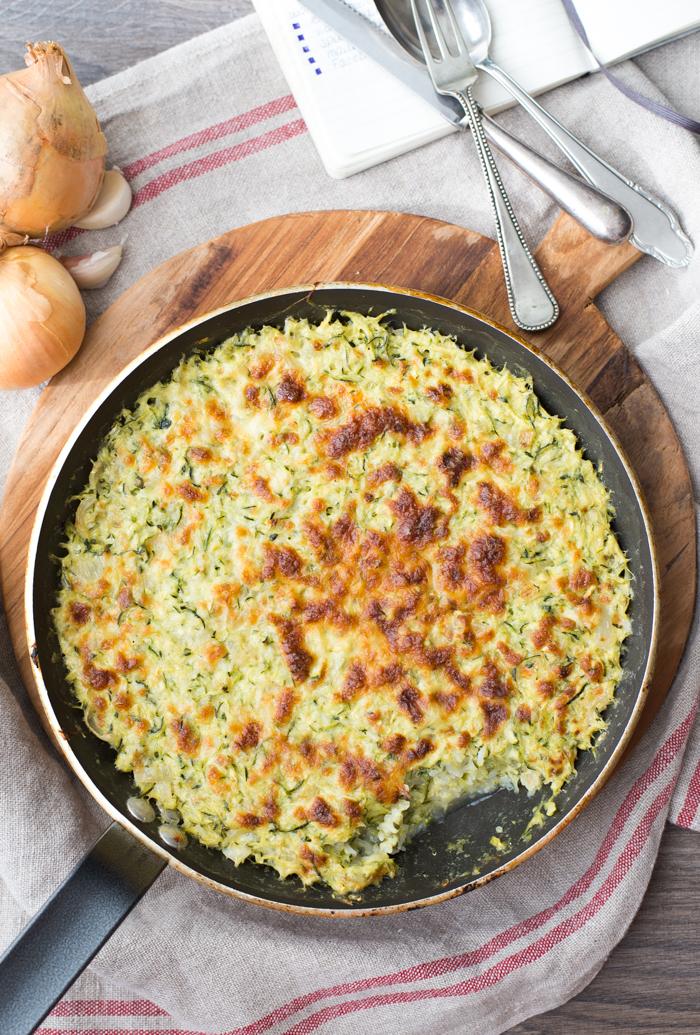 Tian de Courgettes au riz