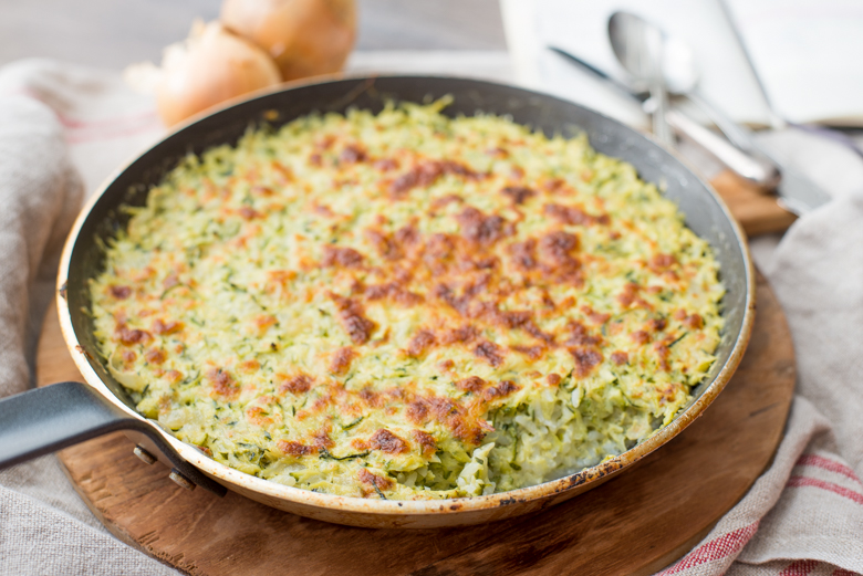 Julia Child's Tian De Courgettes Au Riz (Zucchini Tian) Recipe ...