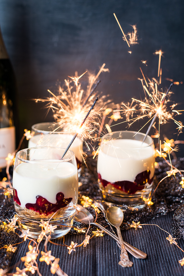 Champagnecheesecake potjes