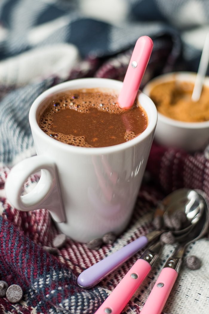 Peanutbutter hot chocolate