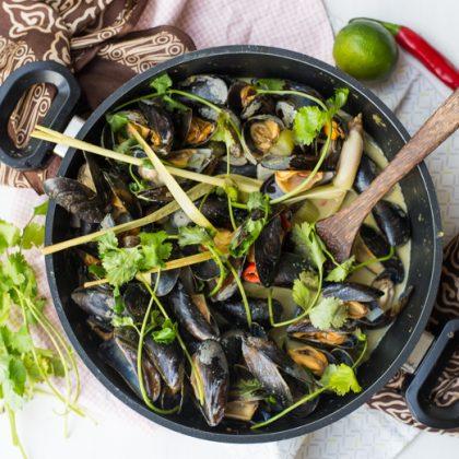 Zeeuwse mosselen op Thaise wijze