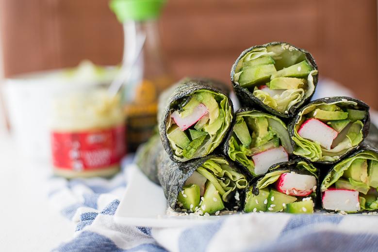 California Nori wraps (sushiwraps)