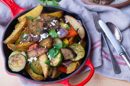 Griekse aardappelschotel