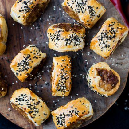 Kipsaucijzenbroodjes uit de Airfryer