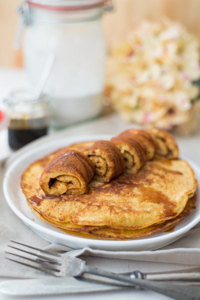 Carrotcake pancakes