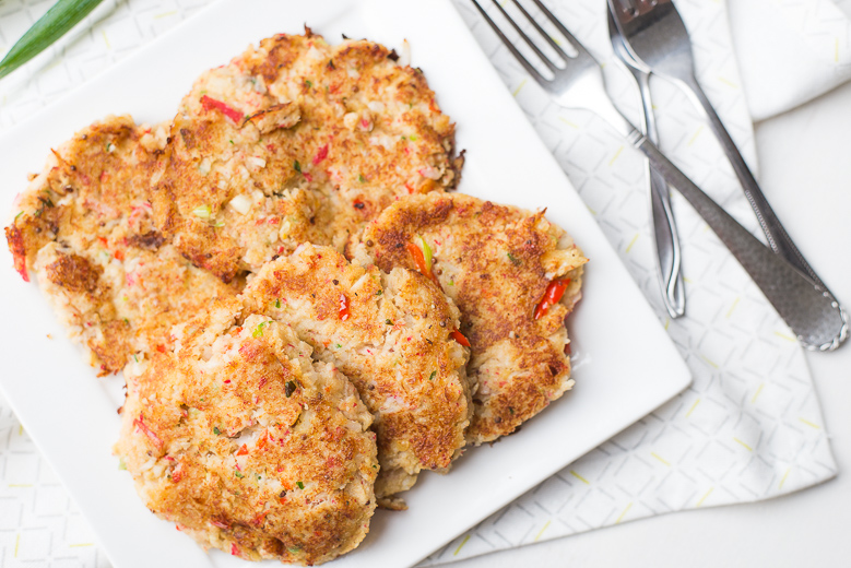 Crabcakes (surimikoekjes)