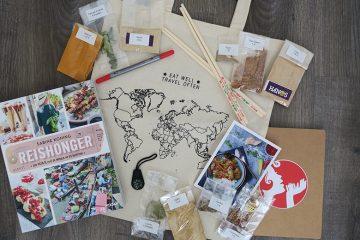 Reishonger kookboekpakket