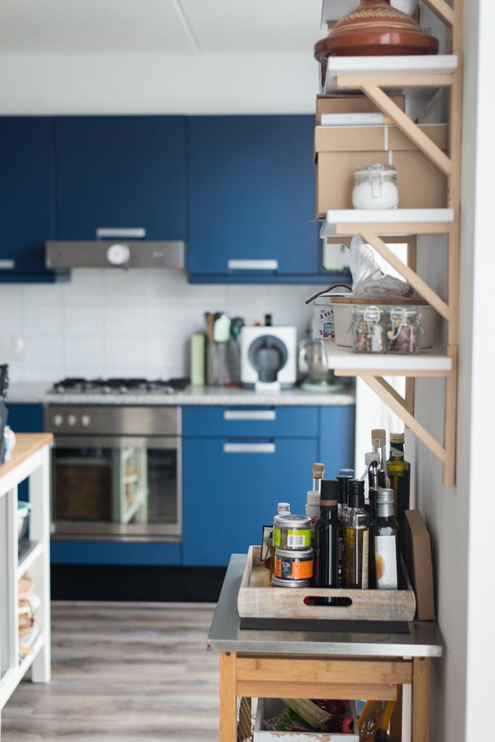Restyling van de keuken: voor situatie