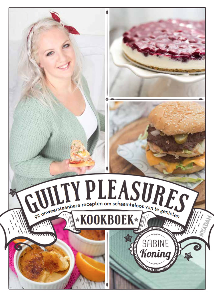 Omslag Guilty Pleasures boek