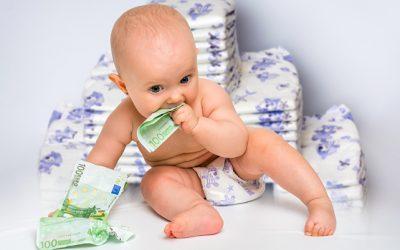 Hoeveel kost een baby per maand?