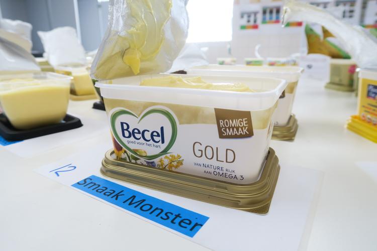 Margarine kwaliteitscontrole