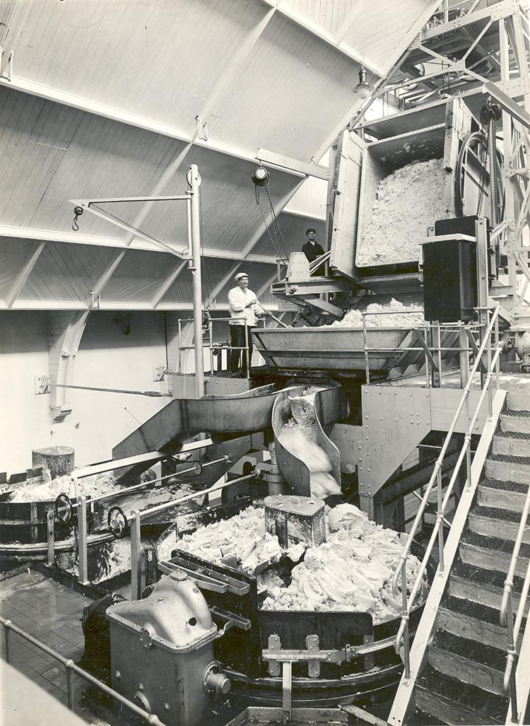 Oude margarinefabriek