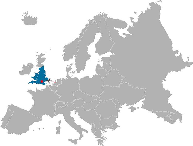 Londen map