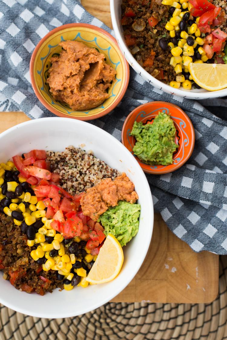 Quinoa-tacobowl
