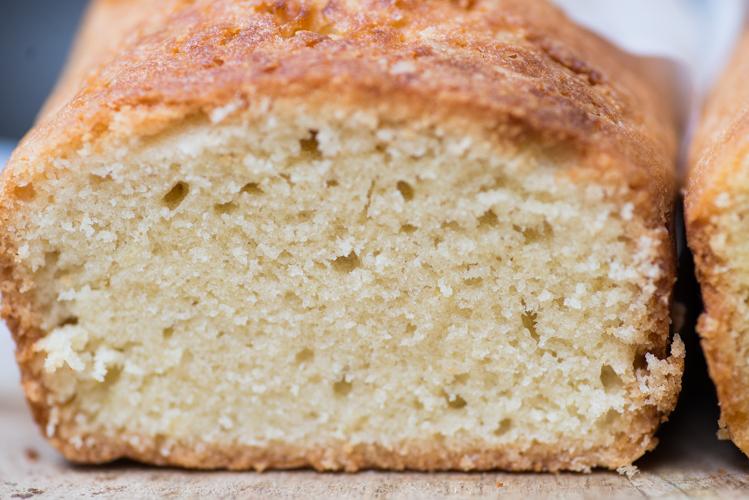 Cake met zonnebloemolie